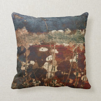 Plentiful, Abstract Nature Pillow in Rich Colors