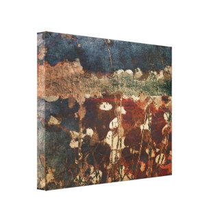Plentiful, Abstract Nature Print on Canvas