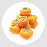 Plentiful Persimmon Stickers