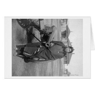 """Plenty Horses"" Who Slew Lieut. Casey Photograph Card"