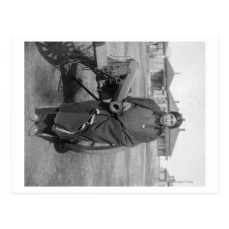 """Plenty Horses"" Who Slew Lieut. Casey Photograph Postcard"