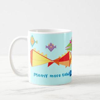 Plenty more fish coffee mug
