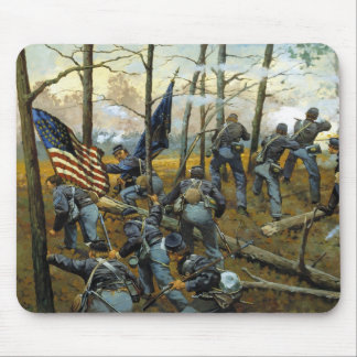 Plenty of Fighting Today by Keith Rocco Mousepad