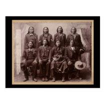 Plenty of Horses Trial 1890 Postcard