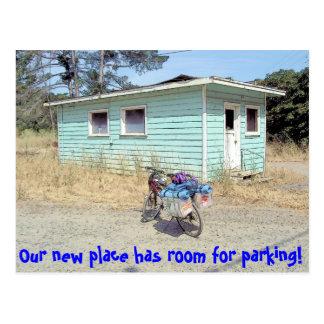 Plenty of Parking Funny Change of Adresss Postcard