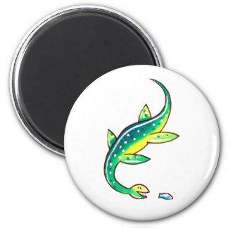 Plesiosaur 2 Inch Round Magnet