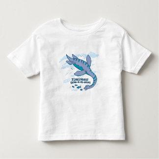 Plesiosaur blue sea dinosaur toddler t-shirt