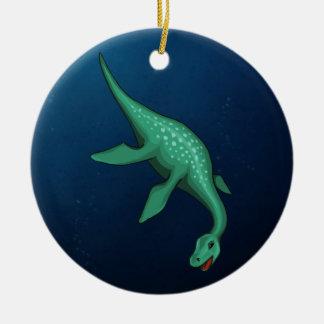 Plesiosaur Ornamentos De Navidad