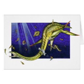 Plesiosaur Greeting Card