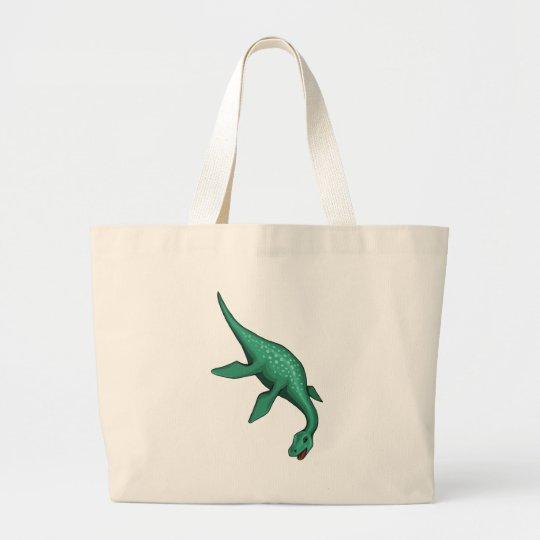 Plesiosaur Large Tote Bag