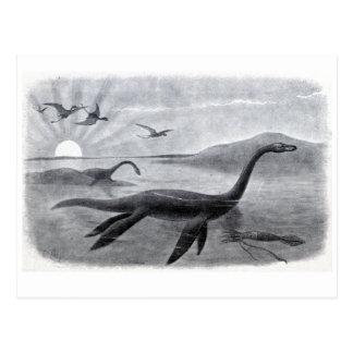 Plesiosaur or the Long Necked Sea Lizard Post Cards