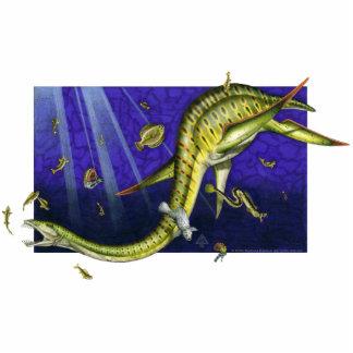 Plesiosaur Photo Sculpture