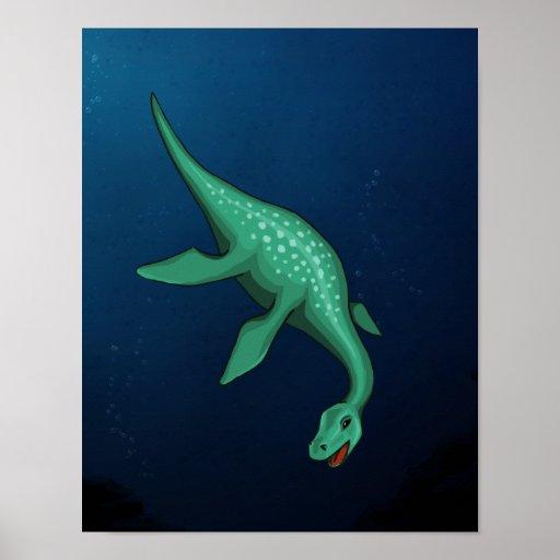 Plesiosaur Posters