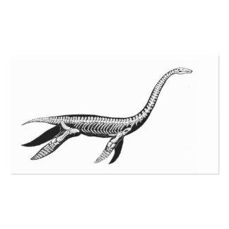Plesiosaur Skeleton Business Cards