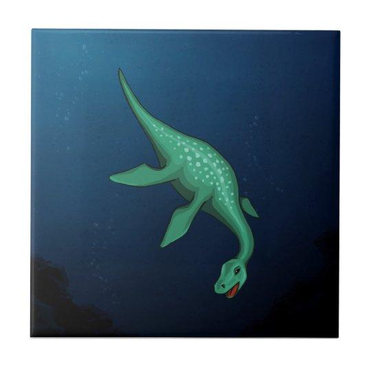 Plesiosaur Tile