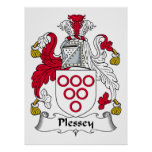 Plessey Family Crest Posters