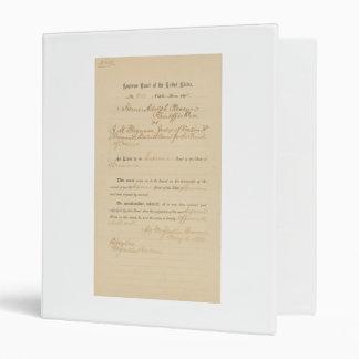 Plessy v. Ferguson 163 U.S. 537 (1896) 3 Ring Binders