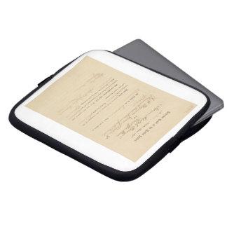 Plessy v. Ferguson 163 U.S. 537 (1896) Laptop Sleeves