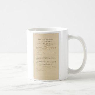 Plessy v. Ferguson los 163 E.E.U.U. 537 (1896) Taza De Café