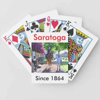 Pletcher Barn at Horse Haven - Saratoga Bicycle Playing Cards