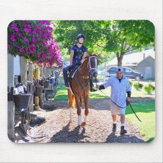Pletcher Barn at Horse Haven - Saratoga Mouse Pad