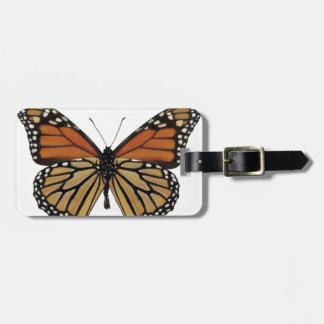 Plexippus Danaus Butterfly Bag Tag