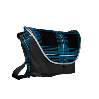 Plexus (Blue) Messenger Bag