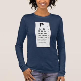 Plexus Eye Chart Long Sleeve T-Shirt