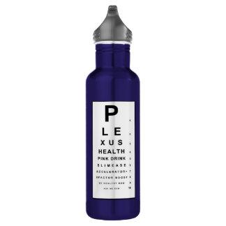 Plexus Eye Chart Stainless Steel Water Bottle