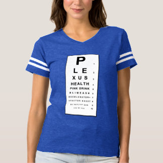 Plexus Eye Chart! T-shirt