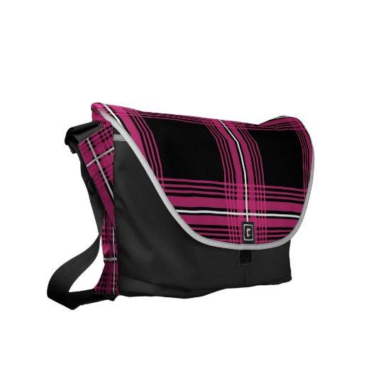 Plexus (Magenta) Messenger Bag