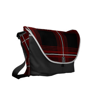 Plexus (Red) Messenger Bag