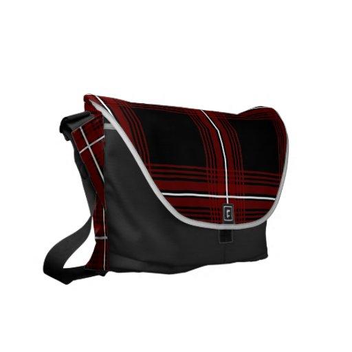 Plexus (Red) Messenger Bag