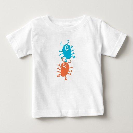 Pliegue y rollo Disney de la vida de un insecto Tee Shirts
