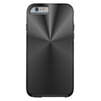 Pliegue y rollo: Metal cepillado Funda Para iPhone 6 Tough
