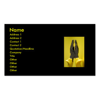 pliers... Double-Sided standard business cards (Pack of 100)