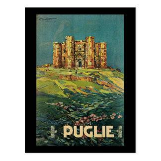 Plinio Codognato Pugile Castel Del Monte Postcard