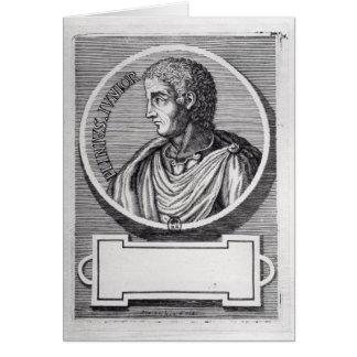 Plinio el más joven tarjeta de felicitación