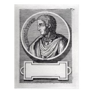 Plinio el más joven tarjeta postal