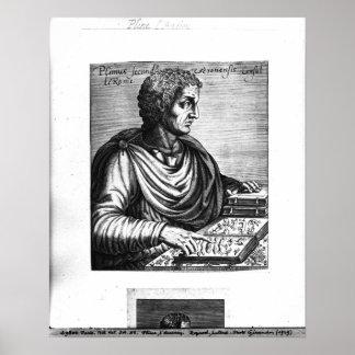 Plinio la anciano póster