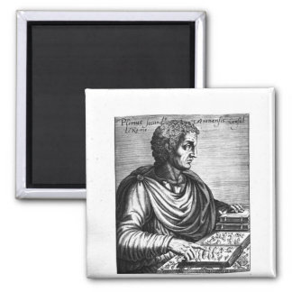 Pliny the Elder 2 Inch Square Magnet