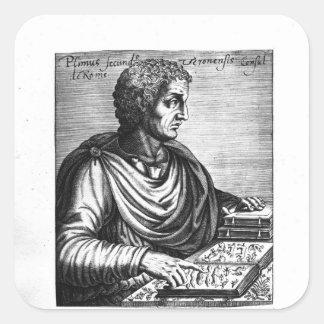 Pliny the Elder Square Sticker