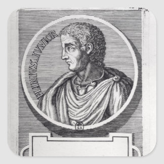 Pliny the Younger Square Sticker