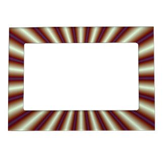 Plisados del cobre marcos magneticos de fotos