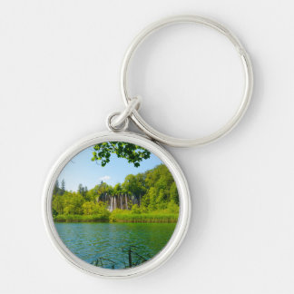 Plitvice Lakes National Park in Croatia Keychain