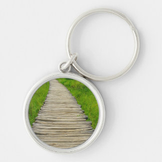 Plitvice National Park in Croatia Hiking Trails Keychain