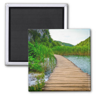 Plitvice National Park in Croatia Hiking Trails Magnet