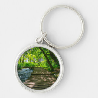 Plitvice National Park in Croatia Keychain
