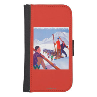 PLM Railway Promotional Poster Galaxy S4 Wallet Cases