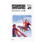 PLM Railway Promotional Poster Postage Stamps